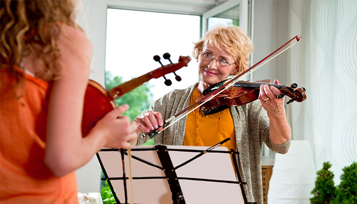 Learning a new instrument can delay memory loss as we age