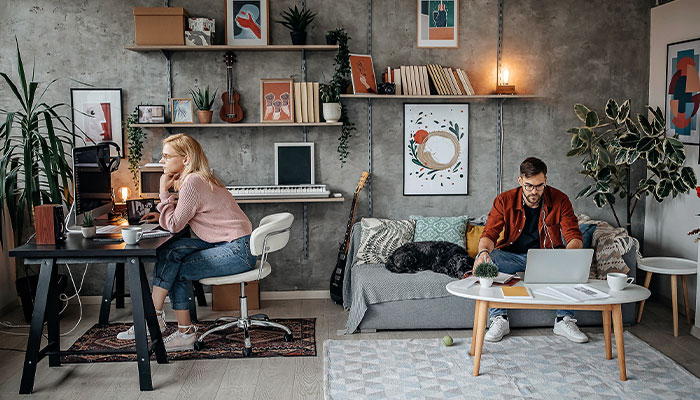 Home or office? New research reveals where workers perform best
