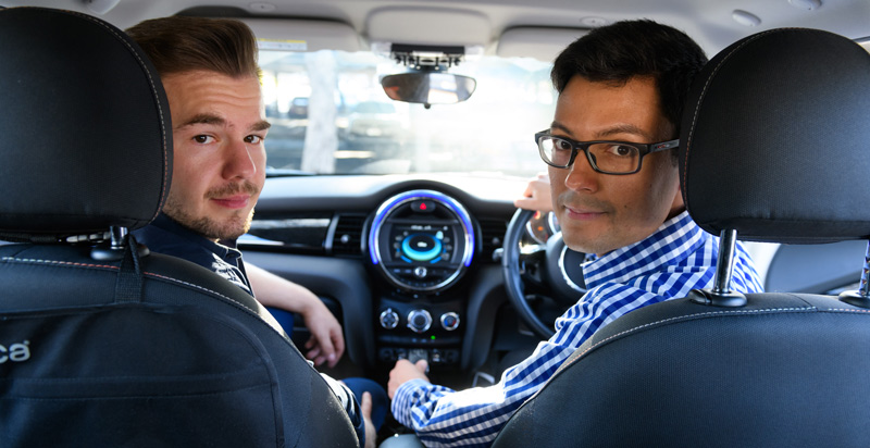 Dr Mauricio Marrone and Dr Ilja Nastuk say too much techology in cars distracts drivers.