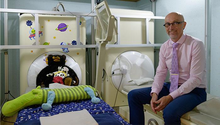Professor David McAlpine Macquarie University.