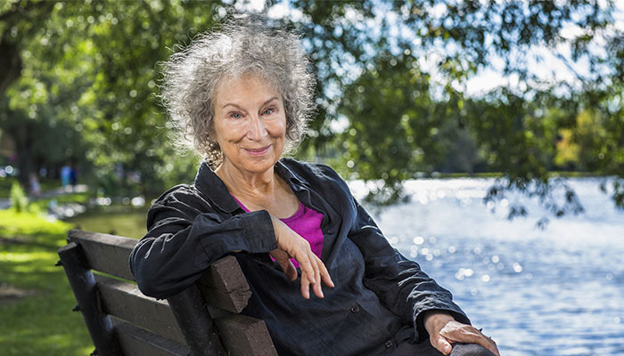 The Testaments author Margaret Atwood.