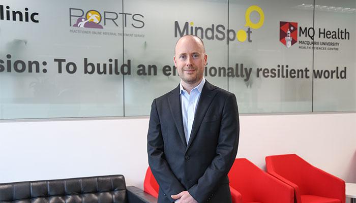 Associate Professor Blake Dear, Macquarie University Department of Psychology
