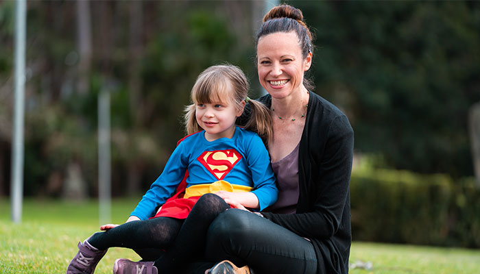 Assoc Prof Penny Van Bergen conducted research into how children remember things at the Spooks in the Park event in Sydney.
