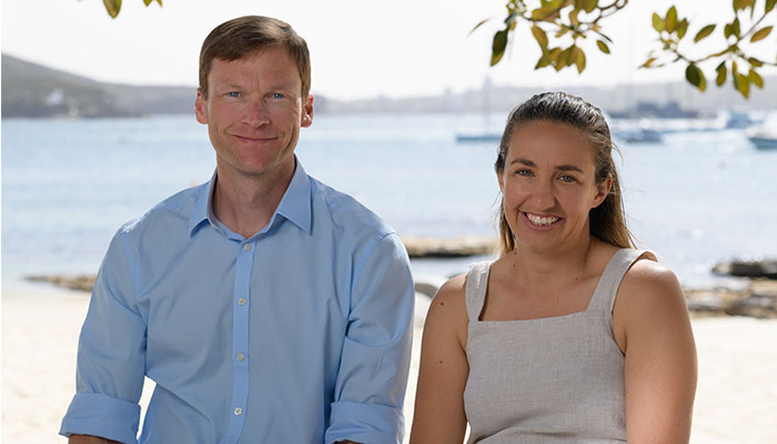 Associate Professor Nathan Hart and fellow researcher Dr Laura Ryan analysed 101 years worht of shark attack data around Australia to come up with world-first findings.