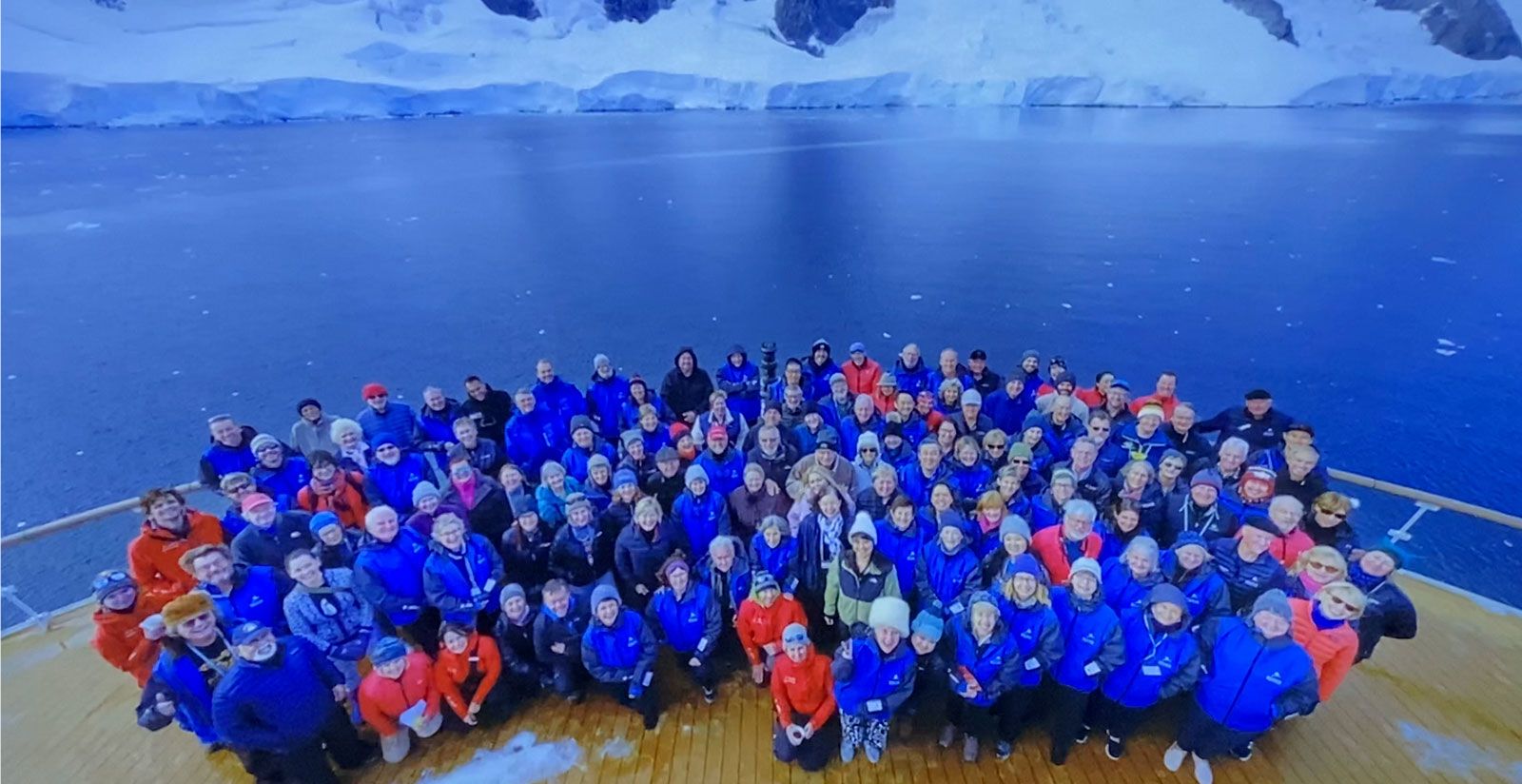 Passengers on board the Greg Mortimer ship on a cruise to Antarctica where 81 per cent of passengers infected with COVID were asymptomatic.