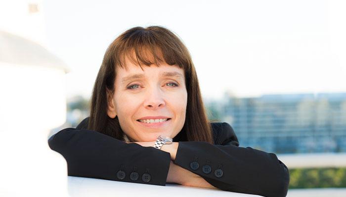 NASA scientist and Macquarie alumna Abigail Allwood