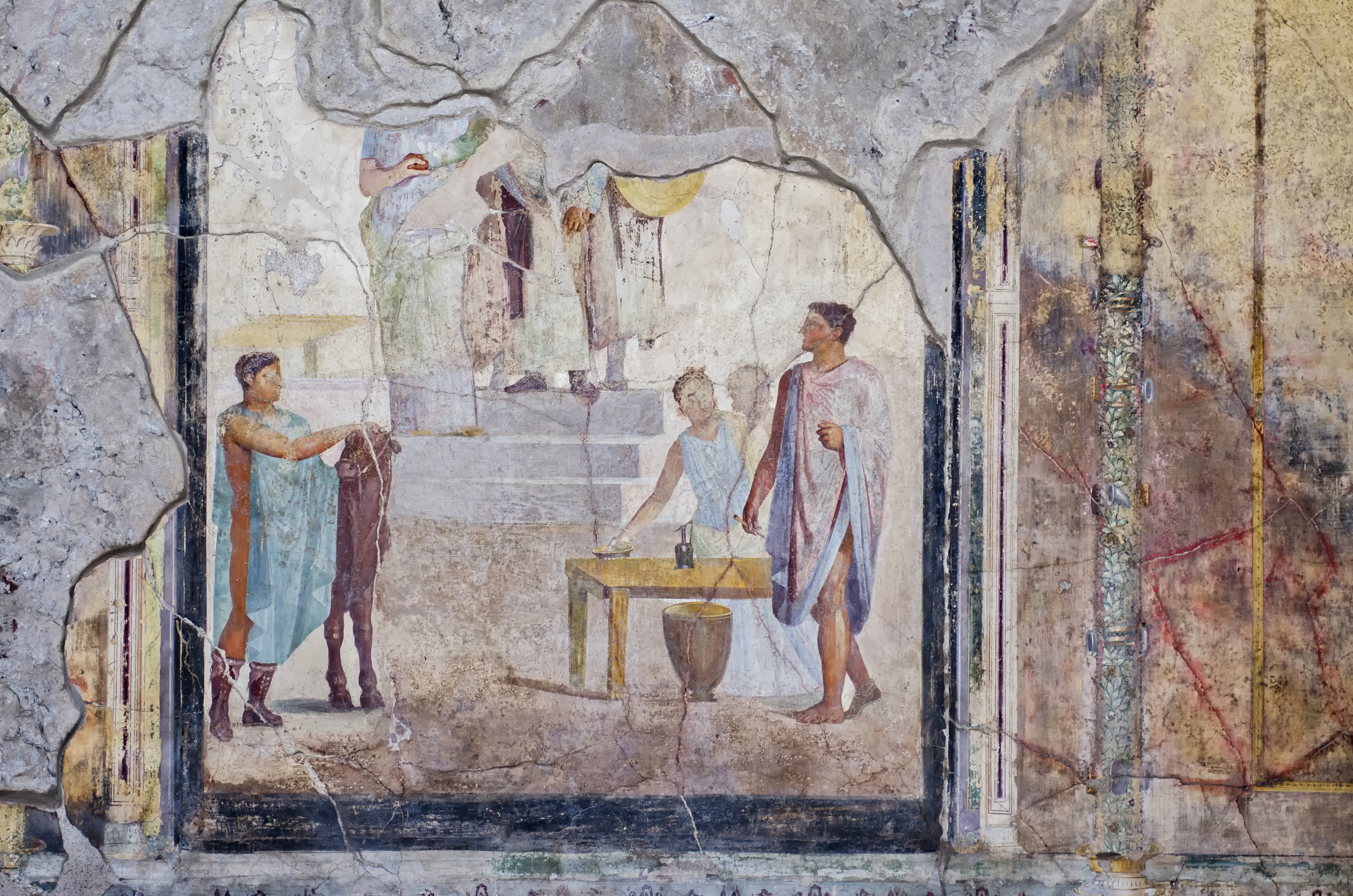 Fast food, bars and boutiques - the world's first shops uncovered in Pompeii