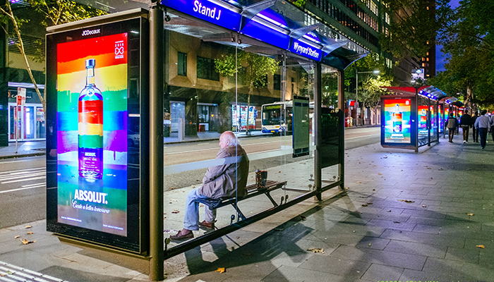 Absolut Vodka LGBTI adverts in Sydney