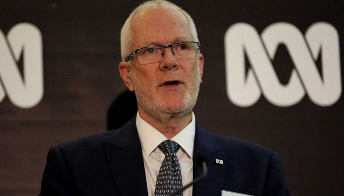 Former Chairman of the ABC Justin Milne.