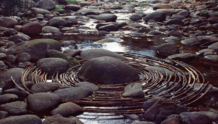 Andy Goldsworthy is considered the father of ephemeral artworks in nature.